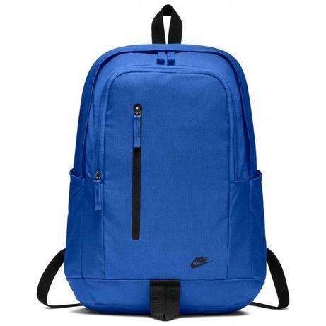 6c519b8307791 NIKE BA5532 plecak szkolny sportowy all access niebieski duży ! Białobrzegi  - image 1
