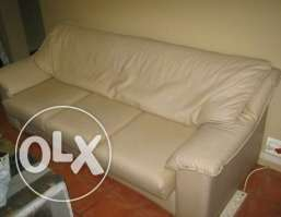 Leather Couch 3 seater
