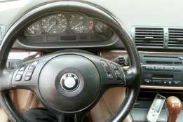 2005 registered BMW 3series available for 1.5M asking
