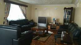 3brs fully furnished apt to let