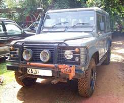 1997 L/Rover Defender 110, manual 2.5L diesel, good condition