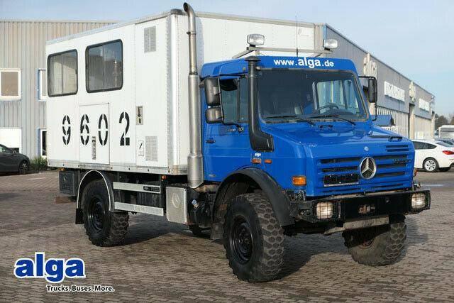 Mercedes-Benz Unimog U4000,Werkstatt,Notstromaggregat,Allrad - 2009