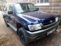 2005,Toyota HiluxDouble Cab.4WD.
