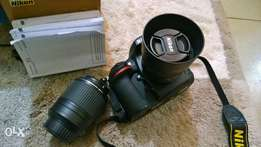 nikon 50mm 1.4G with d3300 + 55mm to 200mm lens