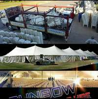 Sunbow marquee and chair hire