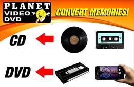 VHS to DVD Transfers