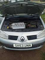 Tincan clear right hand drive & auto Renault megane 2 for sale or swap
