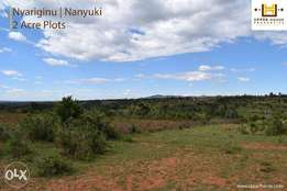 2 Acre Plots in Nanyuki -(Nyariginu)