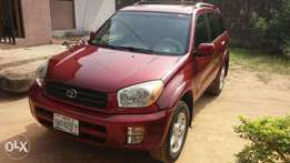 Very Clean Registered Toyota Rav4 03