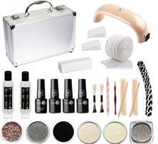 31ca82a362621 Zestaw kosmetyków do manicure plus walizka. Na prezent