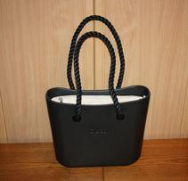 f512c62340bd8 Kompletna torebka Obag Mini Czarna / Nero + org. nat + dł. czarne