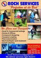 Boch cleaning and Fumigation Services