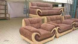 Mix and match fabric seat 7seater