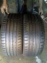 2X 245/40/19 NEXEN tyres for sell