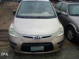Clean Nigerian used Hyundai i10 2010 Model