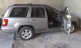 Stripping! 2002 Jeep Grand Cherokee available for stripping