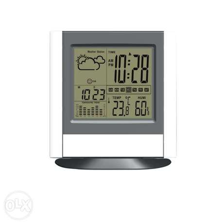Premium Digital Clock with Day, Date, Month, Temperature, Humidity.