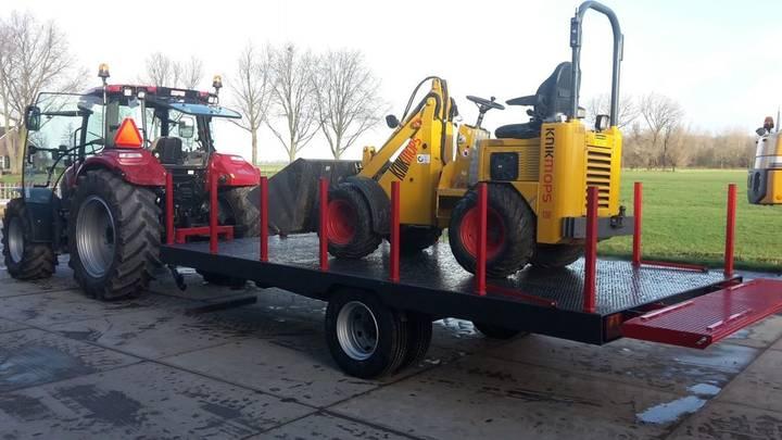 oprijwagen 10 ton car transporter