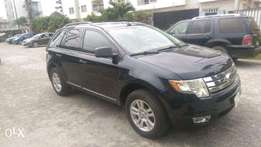 Very Clean Blue Color Tokunbo Ford Edge 2010 model
