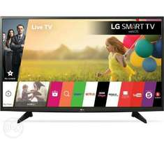 "LG 55UJ634V 55"" Smart 4K Ultra HD HDR LED TV. Brand New"