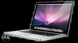 Macbook core2dual laptops available with 4gb and 500 hard drive..