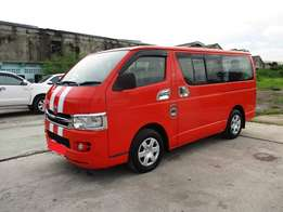 Toyota hiace Manual Diesel wt Seats