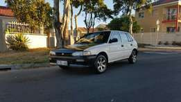 Toyota tazz 1999 model papers in order