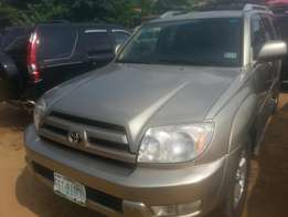 One year used toyota 4runner 2006 v6 engine first body