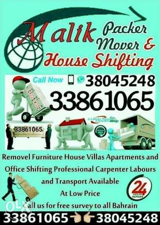 Zinj Movers & packers all over bahrain