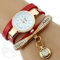 CCQ Brand luxury fashion bracelet wristwatch different colours