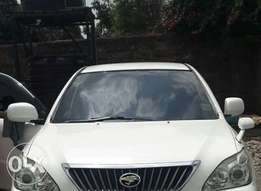 Toyota harrier is on sale