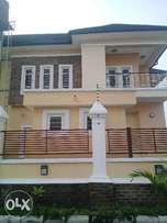 5 bedroom newly built detached duplex with bq at Agungi