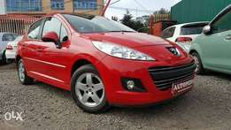 Peugeot 207, Year 2010, (KCM), Red