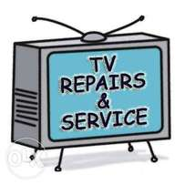 TV repairs and service available