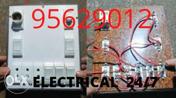 We give you a really fitting service about electrics and plumbing,