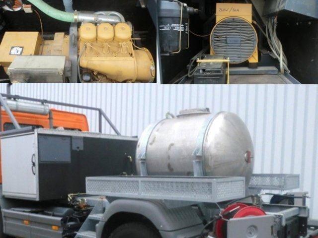 Andere Tank Aufbau Tank Aufbauauf Wunsch mit Separatmotor, - 2002