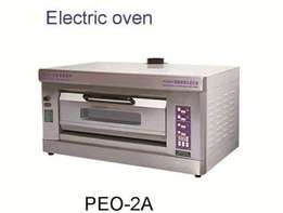 Electric oven single deck 2trays