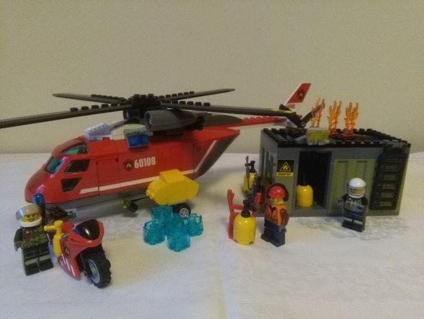 Lego City 60108 Helikopter Strażacki Gdańsk Piecki Migowo Olxpl
