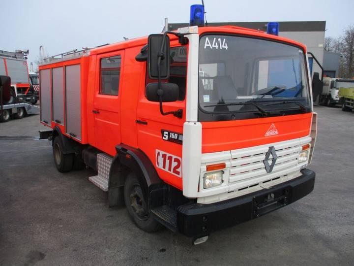 Renault S 160 Feuerwehr / Fire Department / Pompiers ZIEGLER - 1991