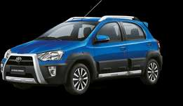 Cash Back when you buy a new Toyota Etios CROSS!!!