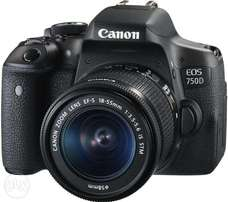 Canon EOS 750D Digital SLR Camera with 18-55mm lens BRAND NEW