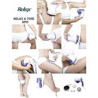 helps in massaging,relaxing and also tonning body parts