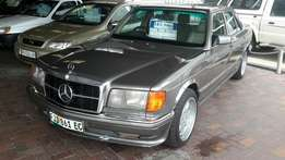 Mercedes 380 automatic