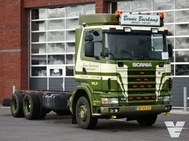 Scania 114g-340 6x2 Full Steel Suspension 10 Wheels - 1997