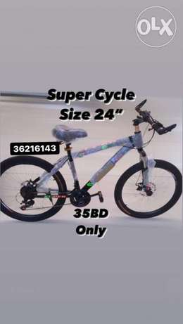 New arrival brand New Super cycle (size 24–35BD) shimano gears
