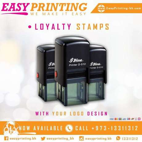 Loyalty Stamps Printing - With Free Delivery Service!
