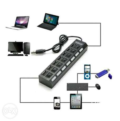 7 in 1 multi usb hub