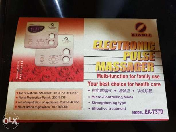 Electronic pulse massager. Chinese acupuncture