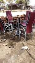 New bar stool with table