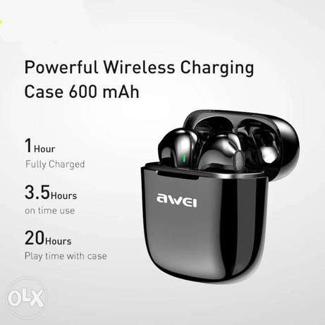 AWEI TWS T26 Wireless Headphones Bluetooth Earphone Auriculares Blueto الرياض -  6